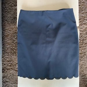 Banana Republic Navy Skirt sz10